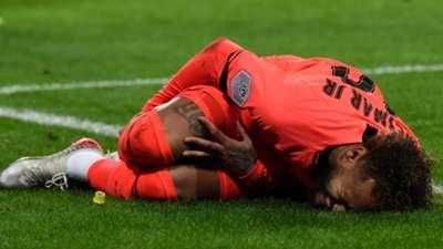 Neymar PSG injured
