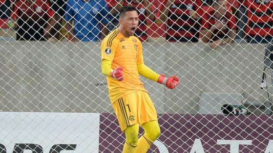 Diego Alves Flamengo LDU Quito Libertadores 13032019