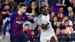 Gerard Pique Sadio Mane Barcelona Liverpool UCL 01052019