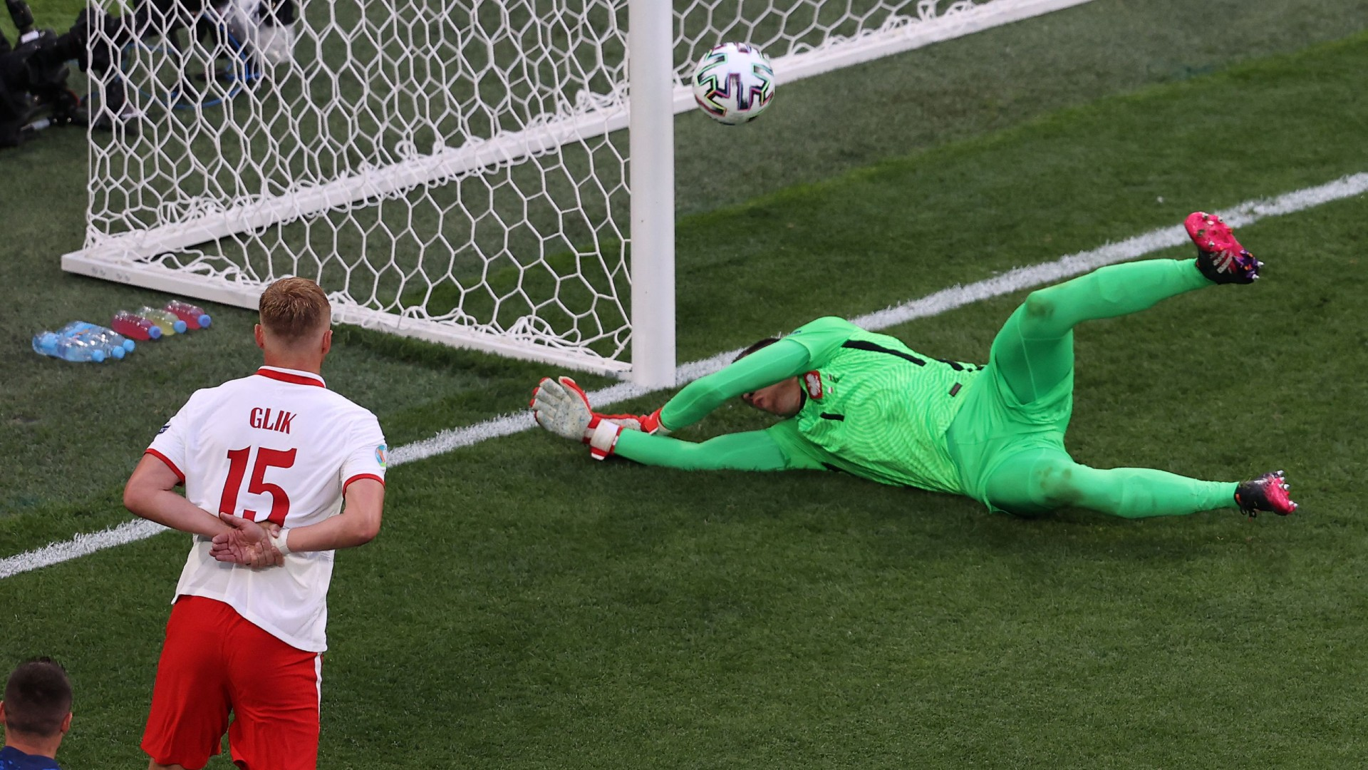 Poland's Szczesny makes Euros history by becoming first goalkeeper credited with own goal