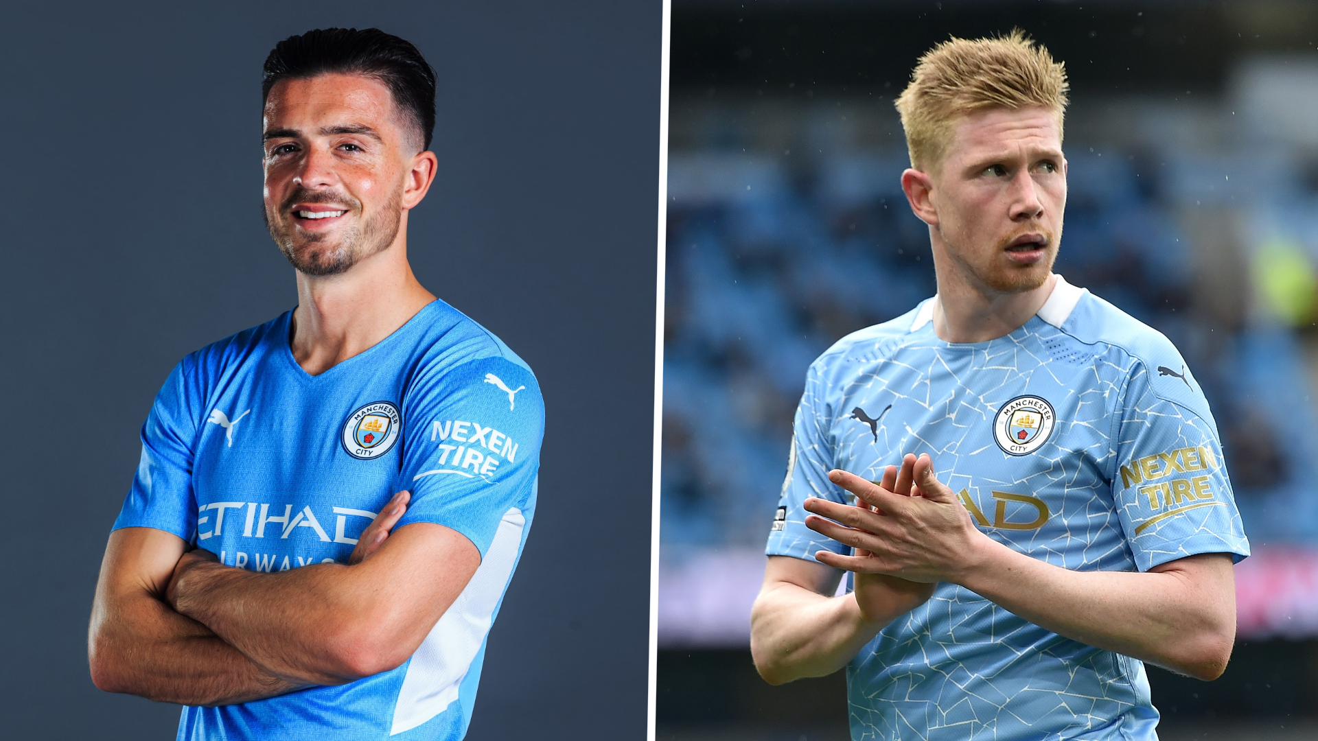 Grealish: De Bruyne is world's best behind Ronaldo and Messi