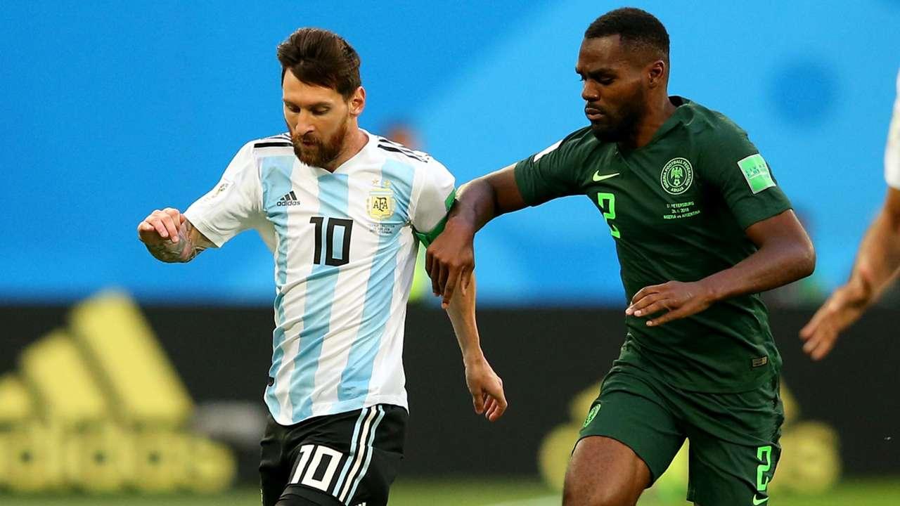 Lionel Messi Argentina Bryan Idowu Nigeria World Cup