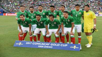 MEXICO COPA ORO vs El Salvador 2017