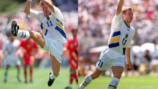 Tomas Brolin Sweden Romania 1994 World Cup