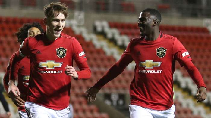 James Garner Man Utd PL 2