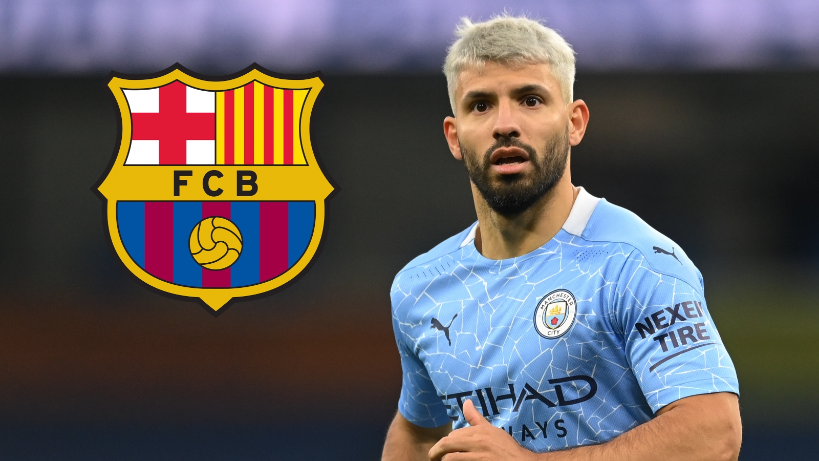 Sergio Agüero will be in Barcelona this morning to complete his medical ahead of completing his move from Man City