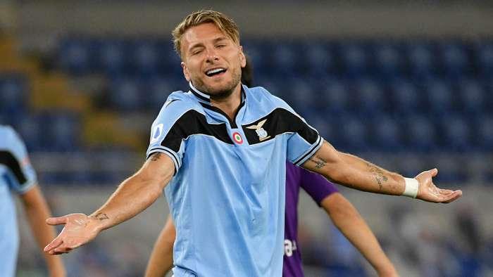 Ciro Immobile Lazio Fiorentina 2019-20