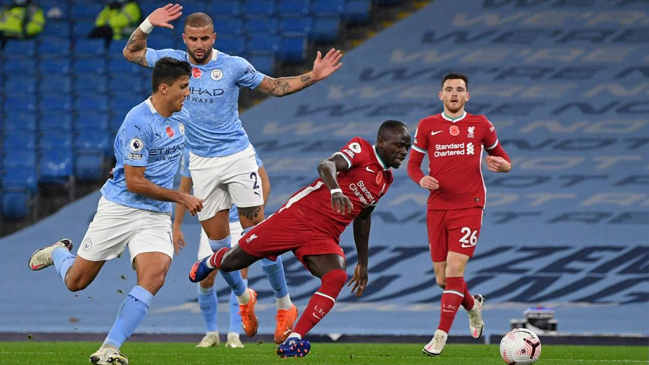 Kyle Walker Manchester City Liverpool 2020-21