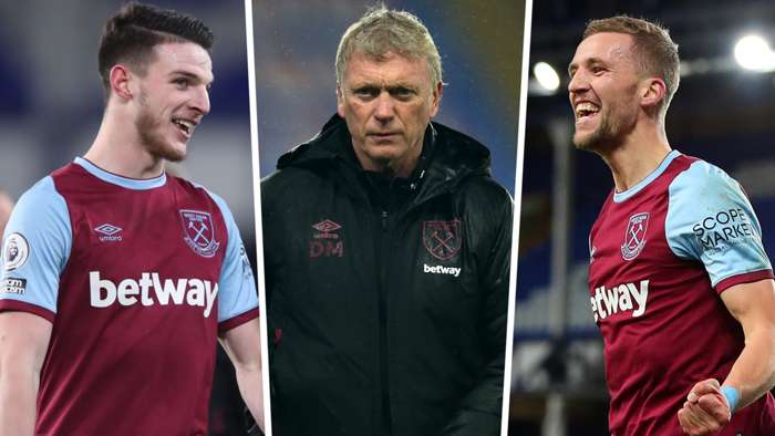 Declan Rice Tomas Soucek David Moyes West Ham GFX
