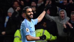 Riyad Mahrez Man City 2018-19