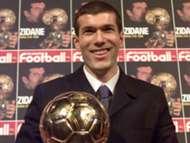 Zinedine Zidane Juventus Ballon D'or 1998