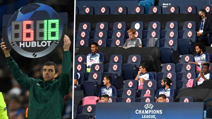 Champions League Substitutions