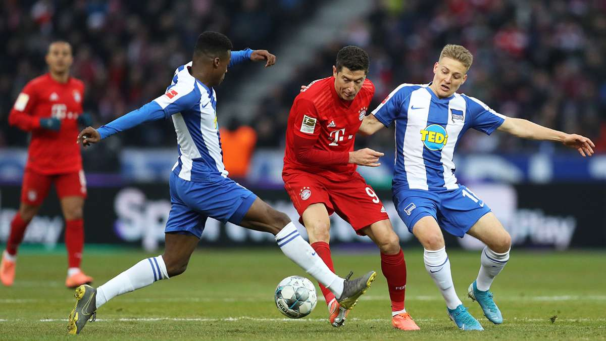 Hertha Liverpool Anstoß