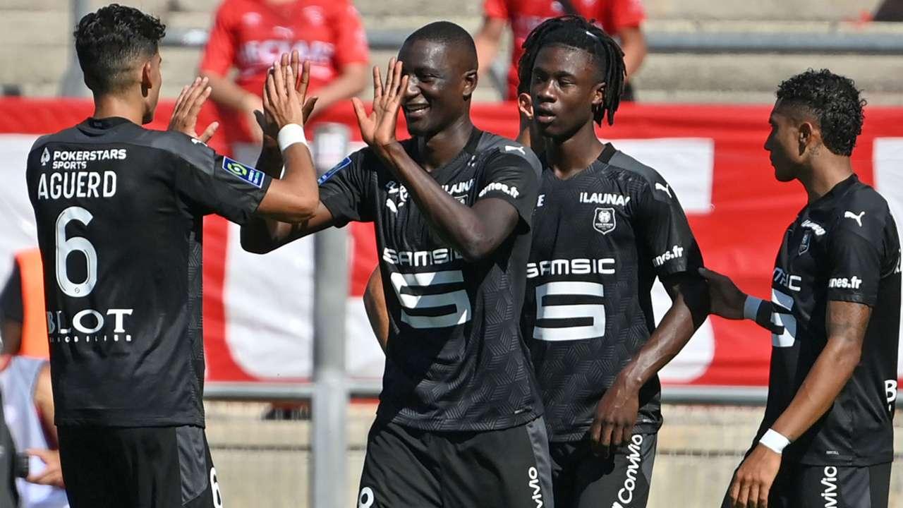 Serhou Guirassy Nimes Rennes Ligue 1 13092020