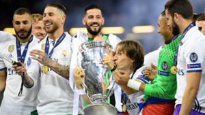 Real Madrid 2017 Champions League winners