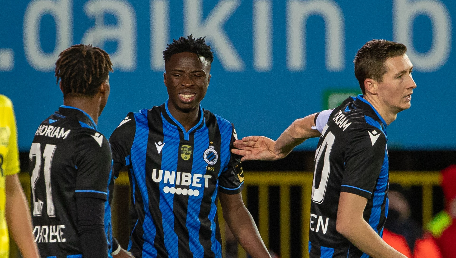 Youssouph Badji scores hat-trick as Club Brugge cruise into Belgian Cup round of 16