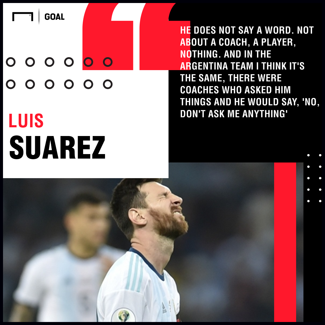 Lionel Messi, Luis Suarez QUOTE