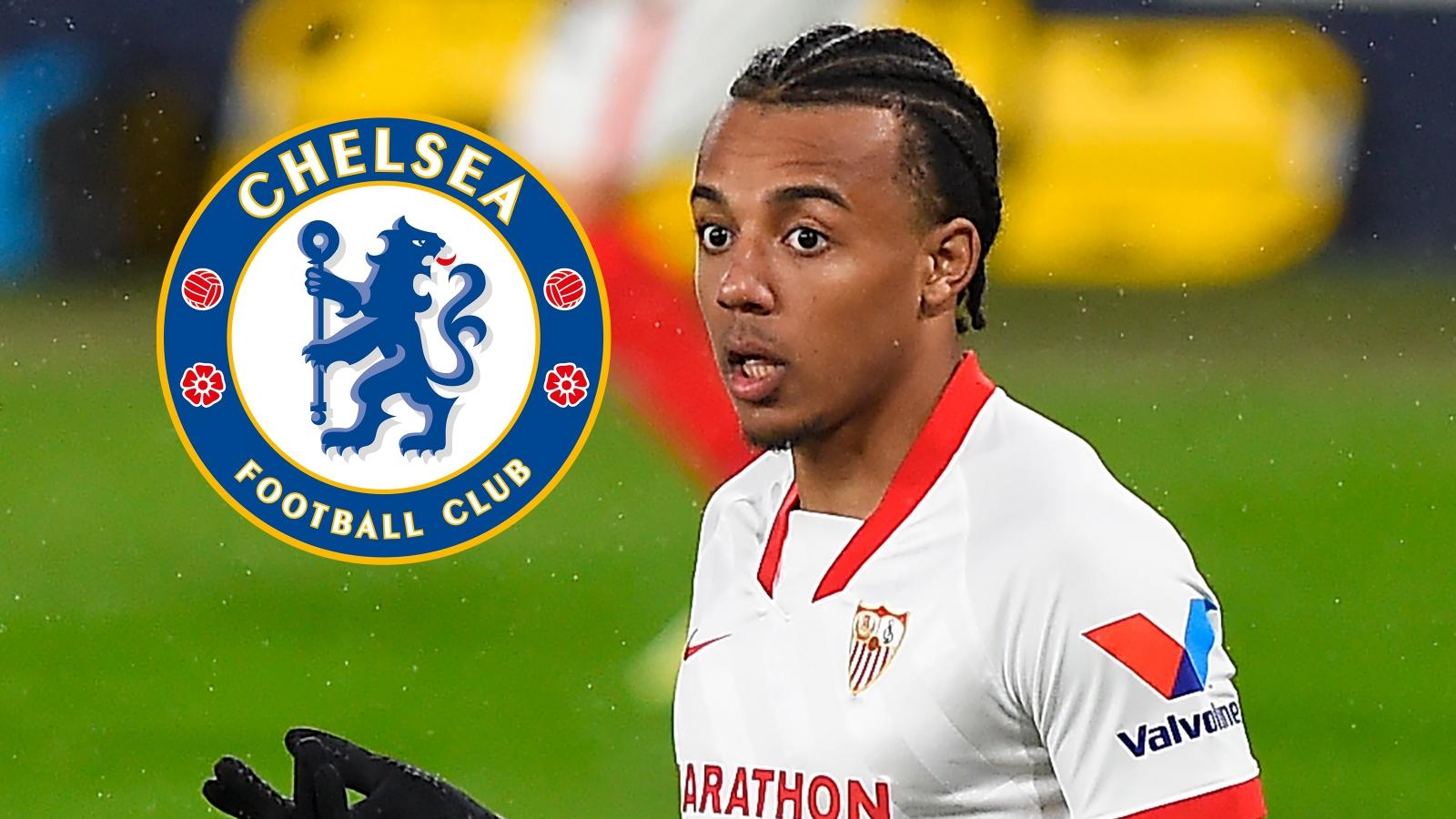 Sevilla want €80m deal for Chelsea target Kounde amid talk of Zouma part-exchange