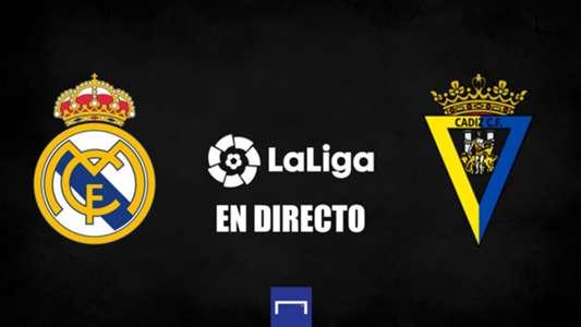 Real Madrid vs. Cádiz de LaLiga en directo: resultado, alineaciones, polémicas, reacciones y ruedas de prensa   Goal.com