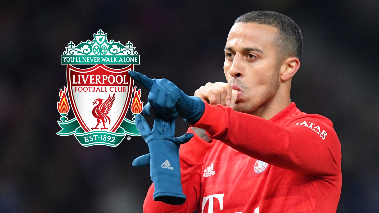 Bayern boss Flick hints at Premier League move for Thiago amid Liverpool links