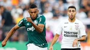 Gabriel Miguel Borja Corinthians Palmeiras Brasileirao Serie A 13052018