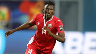 Michael Olunga of Harambee Stars and Kenya.
