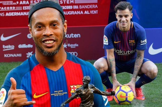Ronaldinho: Buat Semua Orang Bahagia Philippe Coutinho! | Goal.com