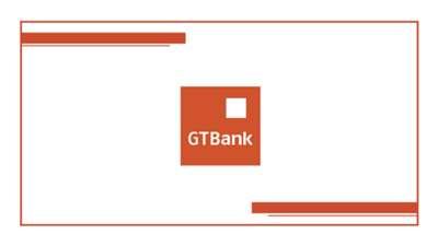 GT Bank Brand Slide