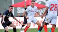 Lucas Ocampos, FC Séville - Liverpool FC, match amical le 21 juillet 2019
