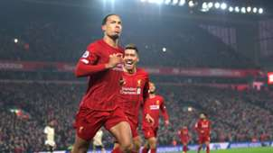 Virgil van Dijk FC Liverpool Manchester United Premier League 19012020