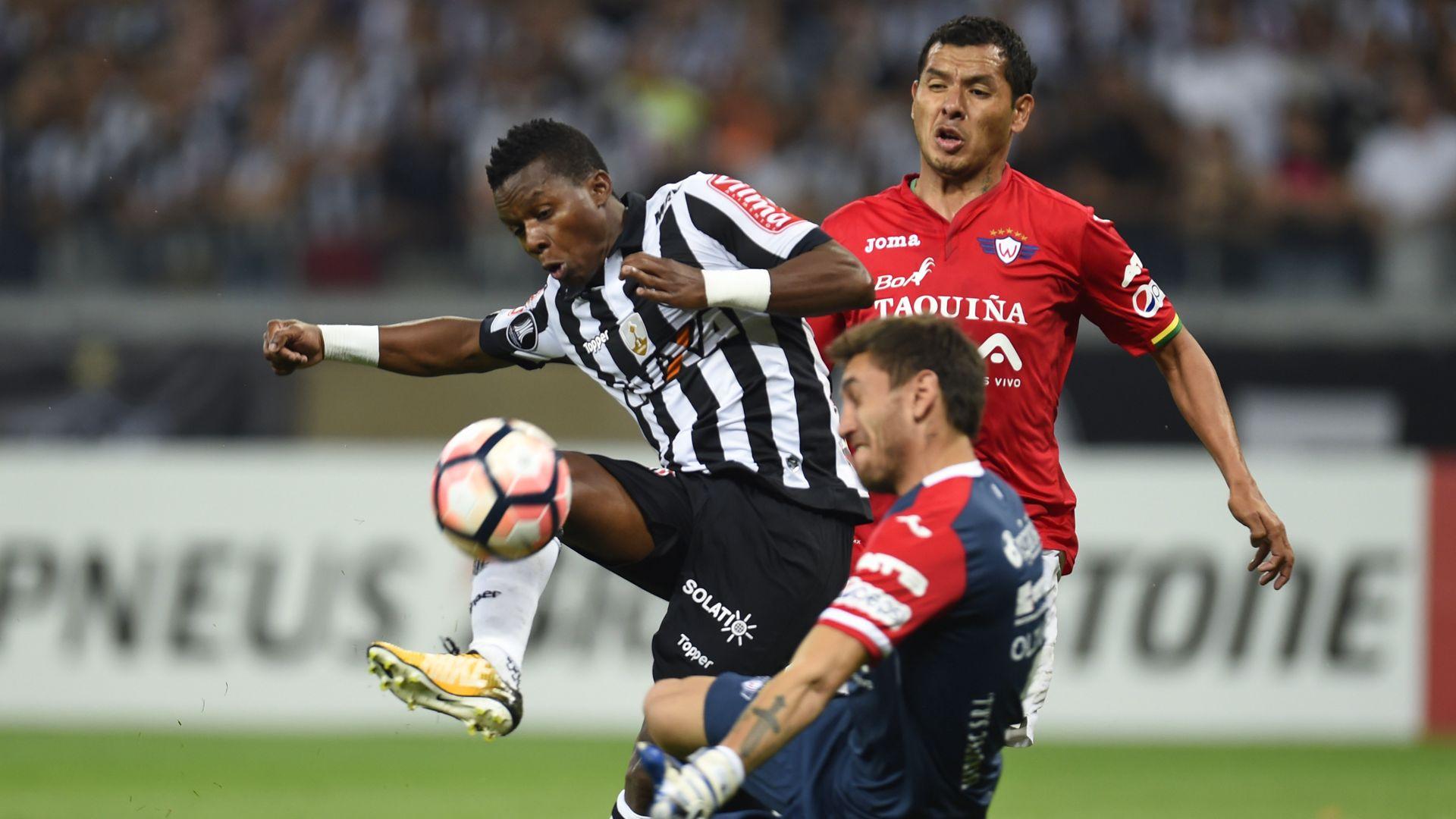 Juan Cazares Raul Olivares Atletico-MG Jorge Wilstermann Libertadores 09082017