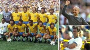 Brazil Pep Guardiola Tele Santana 1982 World Cup