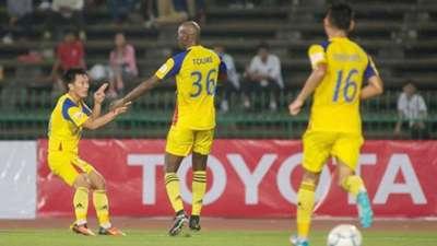 Sanna Khánh Hòa BVN Mekong Cup 2017