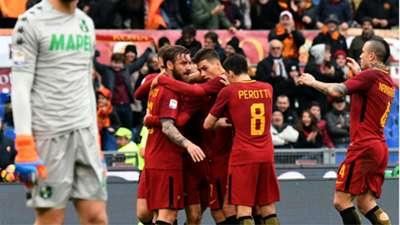 Roma Sassuolo Serie A