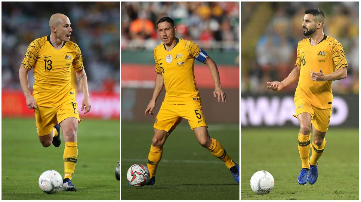 Socceroos split