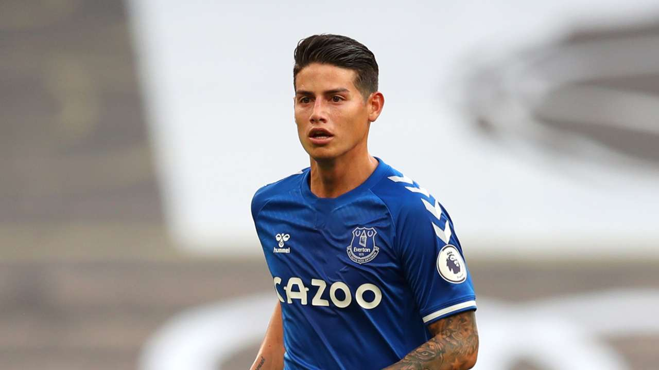 James Rodriguez Everton 2020