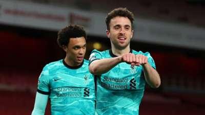 Diogo Jota Liverpool Arsenal Premier League 2020-21