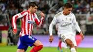 Alvaro Morata Raphael Varane Atletico Real Madrid Supercopa 12022020