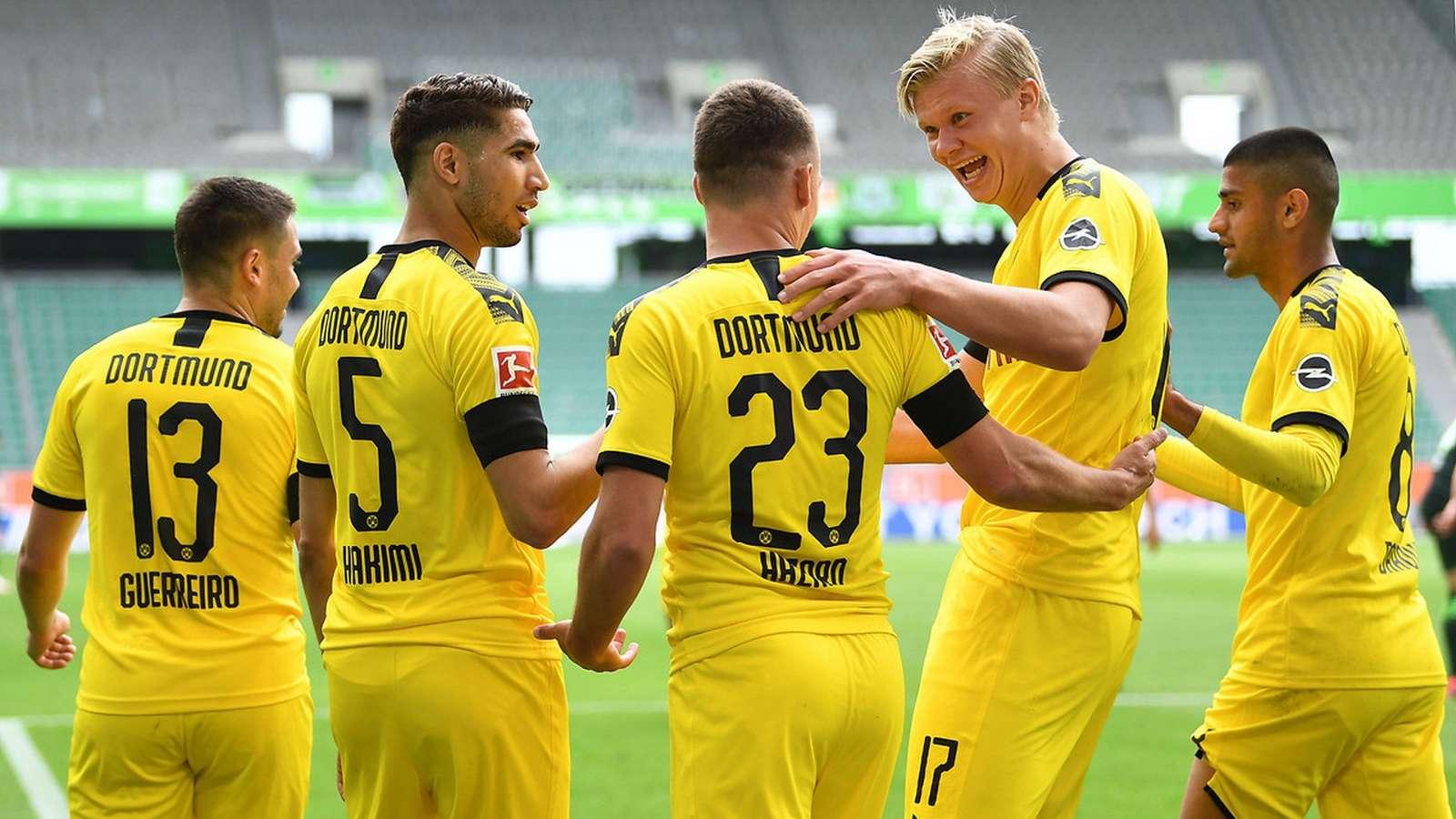 Wofsburg Dortmund Bundesliga 23052020