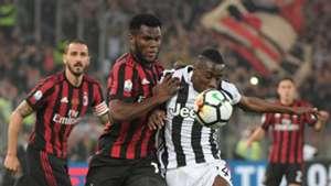 Franck Kessie Blaise Matuidi Juventus Milan Coppa Italia