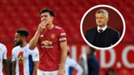 Solskjaer Maguire Manchester United 2020
