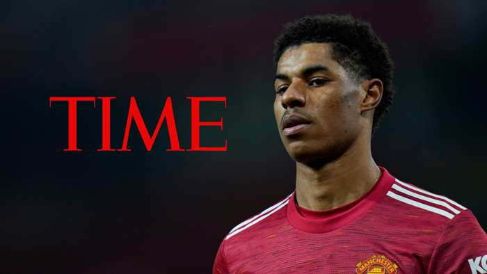 Marcus Rashford, Time magazine logo