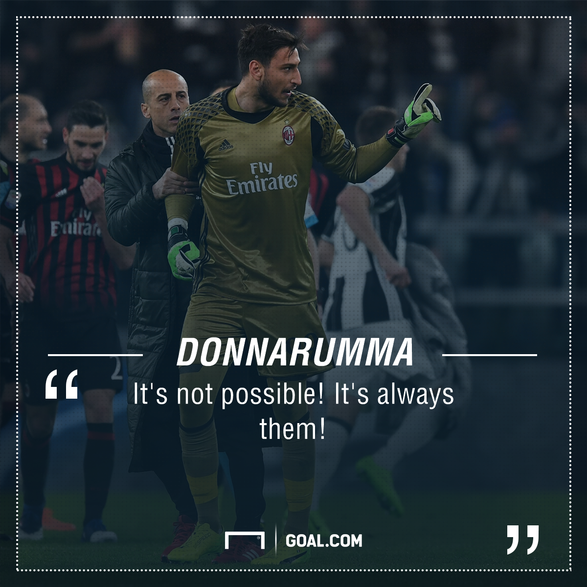 Gigio Donnarumma AC Milan Juventus PS