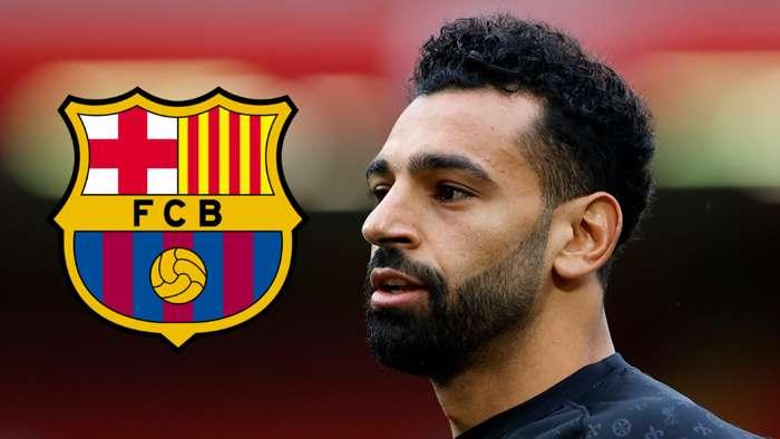 Mohamed Salah Liverpool 2020-21 Barcelona