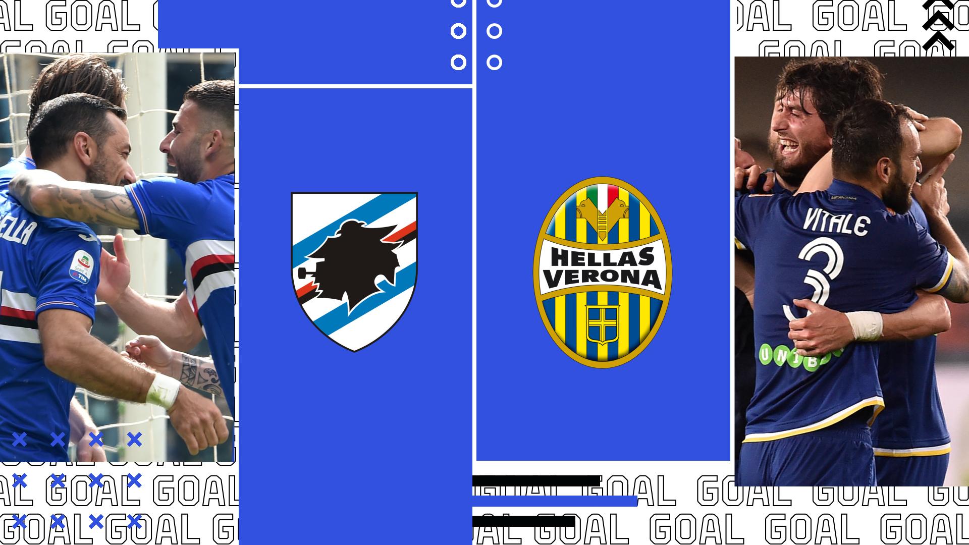 Sampdoria-Verona 2-1: video highlights e gol Serie A giornata 26
