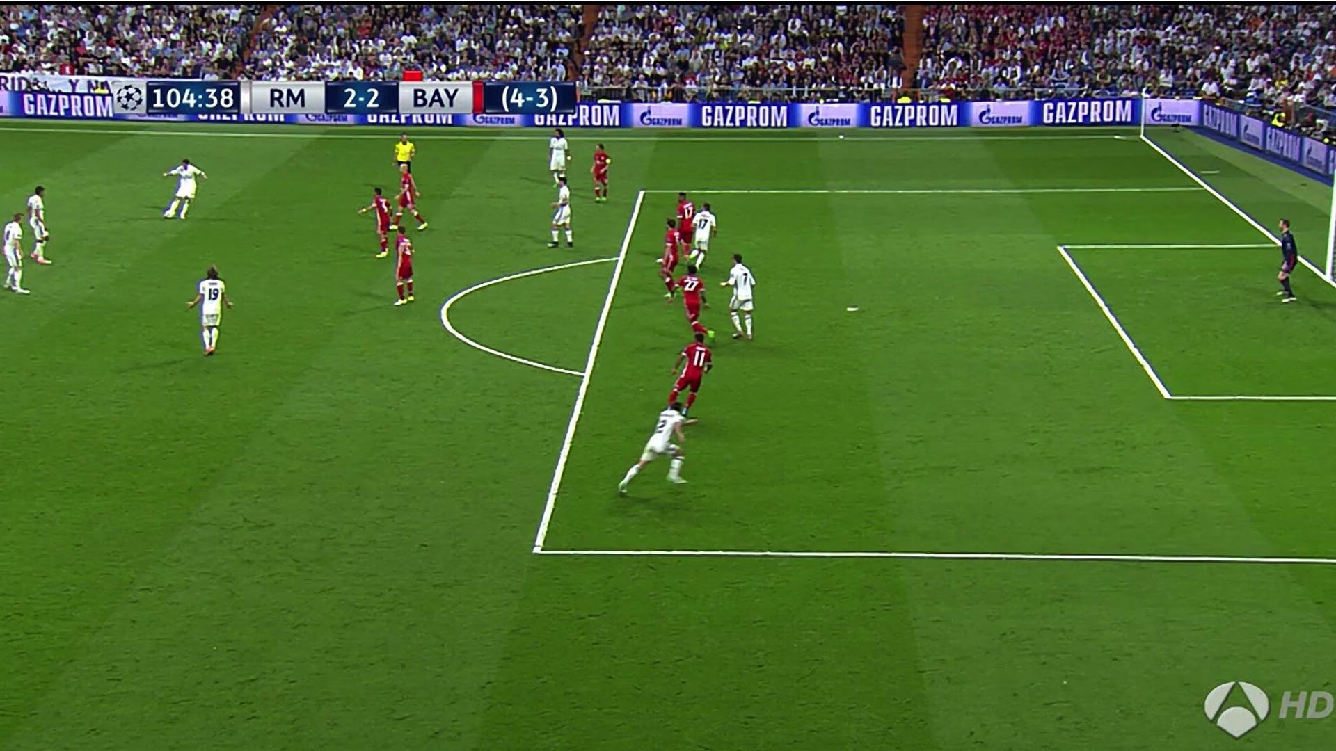 Fuera de juego Cristiano Ronaldo Real Madrid Bayern Munich UCL 18042017