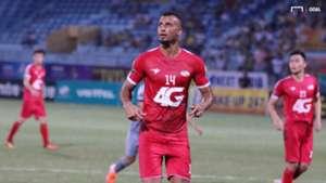 Janclesio Almeida Santos Viettel vs Ho Chi Minh City FC Round 14 V.League 2019