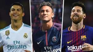 Ronaldo Neymar Messi GFX
