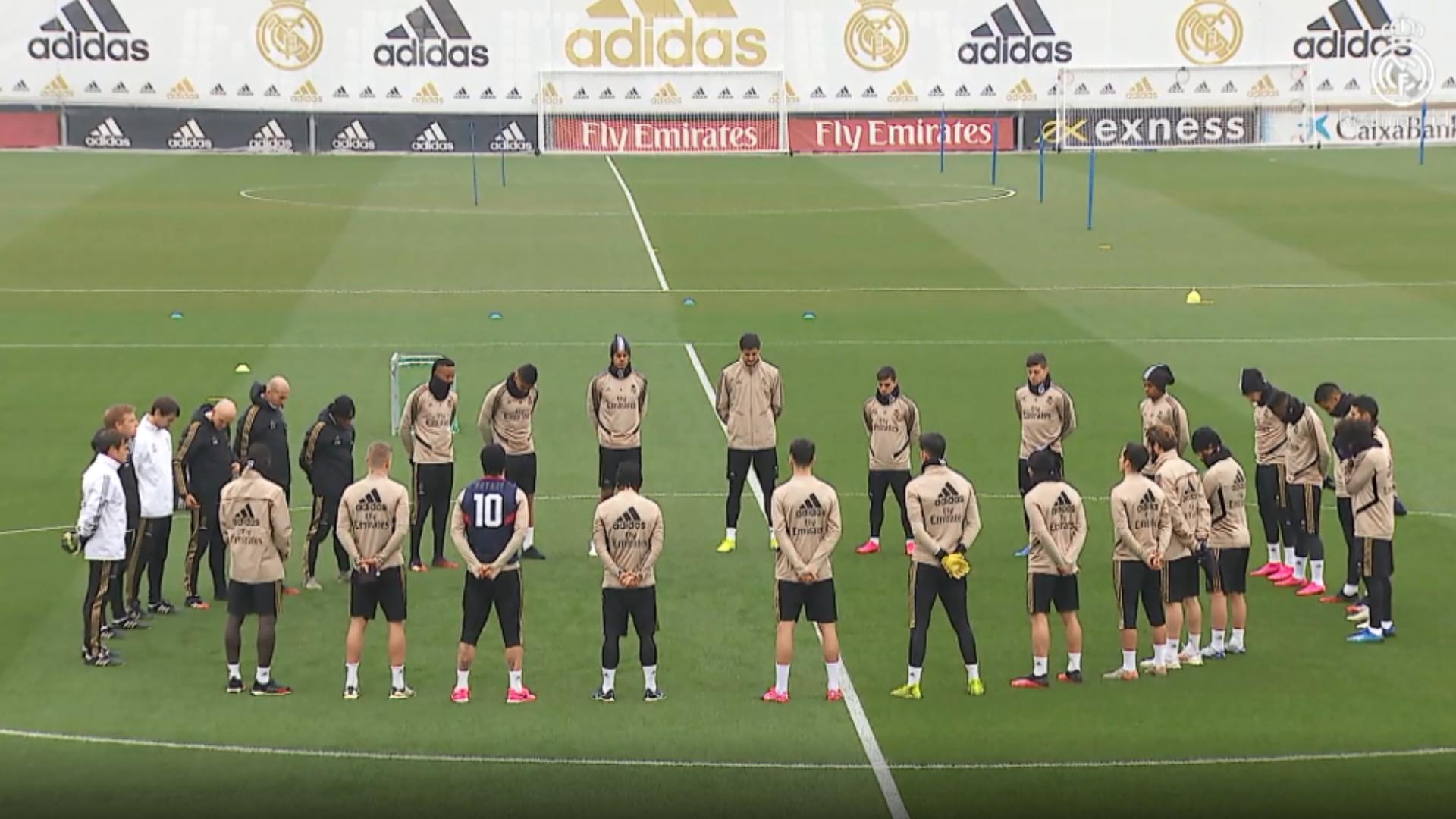 Coronavirus, les joueurs du Real Madrid subiront des tests mercredi