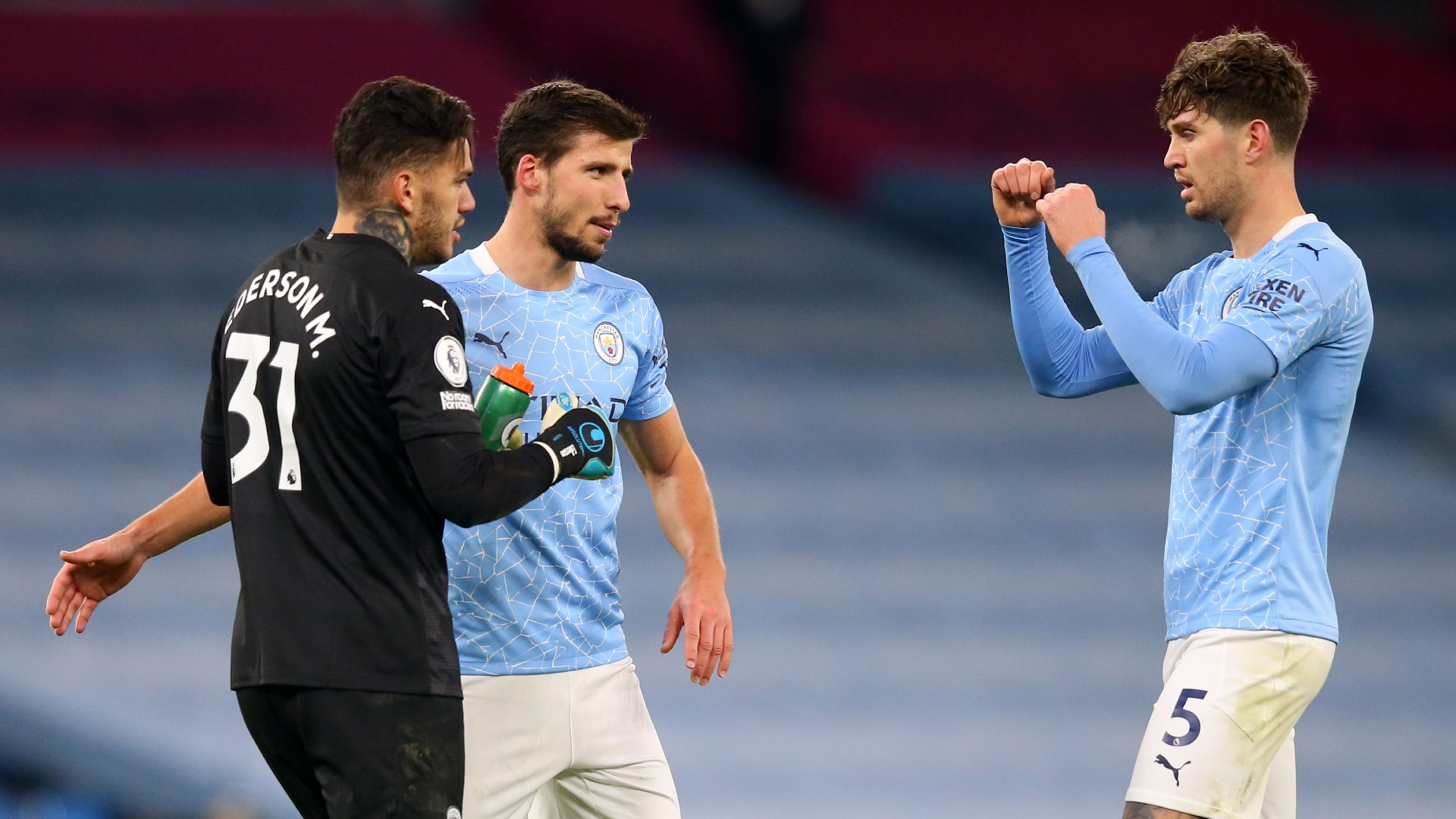 'I absolutely love playing with Dias' - Stones hails Manchester City team-mate following return to form